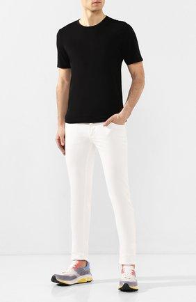Мужская хлопковая футболка COTTON CITIZEN черного цвета, арт. M60011 | Фото 2