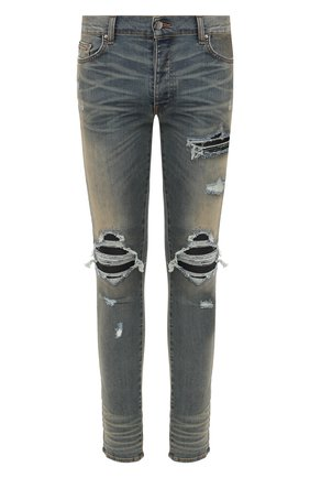 Мужские джинсы AMIRI синего цвета, арт. S0M01100SD | Фото 1