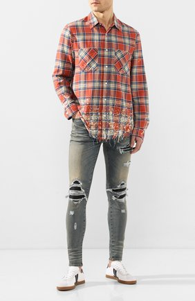 Мужские джинсы AMIRI синего цвета, арт. S0M01100SD | Фото 2