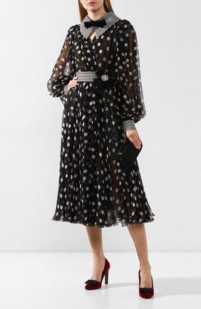 Женская текстильные туфли mallorie RALPH LAUREN красного цвета, арт. 800782788 | Фото 2