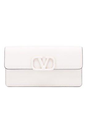 Кожаный кошелек Valentino Garavani на цепочке | Фото №1