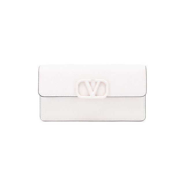Кожаный кошелек Valentino Garavani на цепочке Valentino