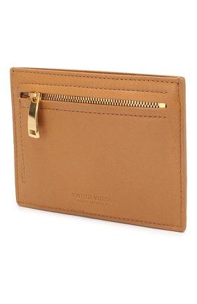 Женский кожаный футляр для кредитных карт BOTTEGA VENETA бежевого цвета, арт. 608088/VCPP3 | Фото 2