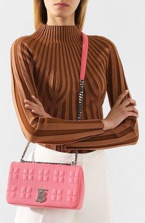 Женская сумка lola small BURBERRY розового цвета, арт. 8023889   Фото 2