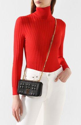 Женская сумка lola mini BURBERRY черного цвета, арт. 8023117   Фото 2