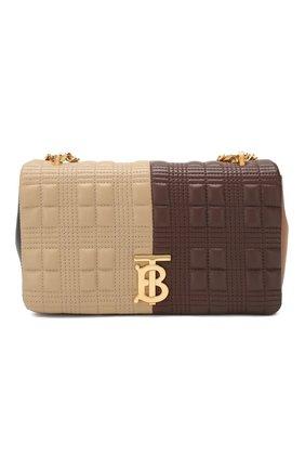 Женская сумка lola small BURBERRY коричневого цвета, арт. 8022977 | Фото 1 (Сумки-технические: Сумки через плечо; Материал: Натуральная кожа; Ремень/цепочка: На ремешке; Размер: small)