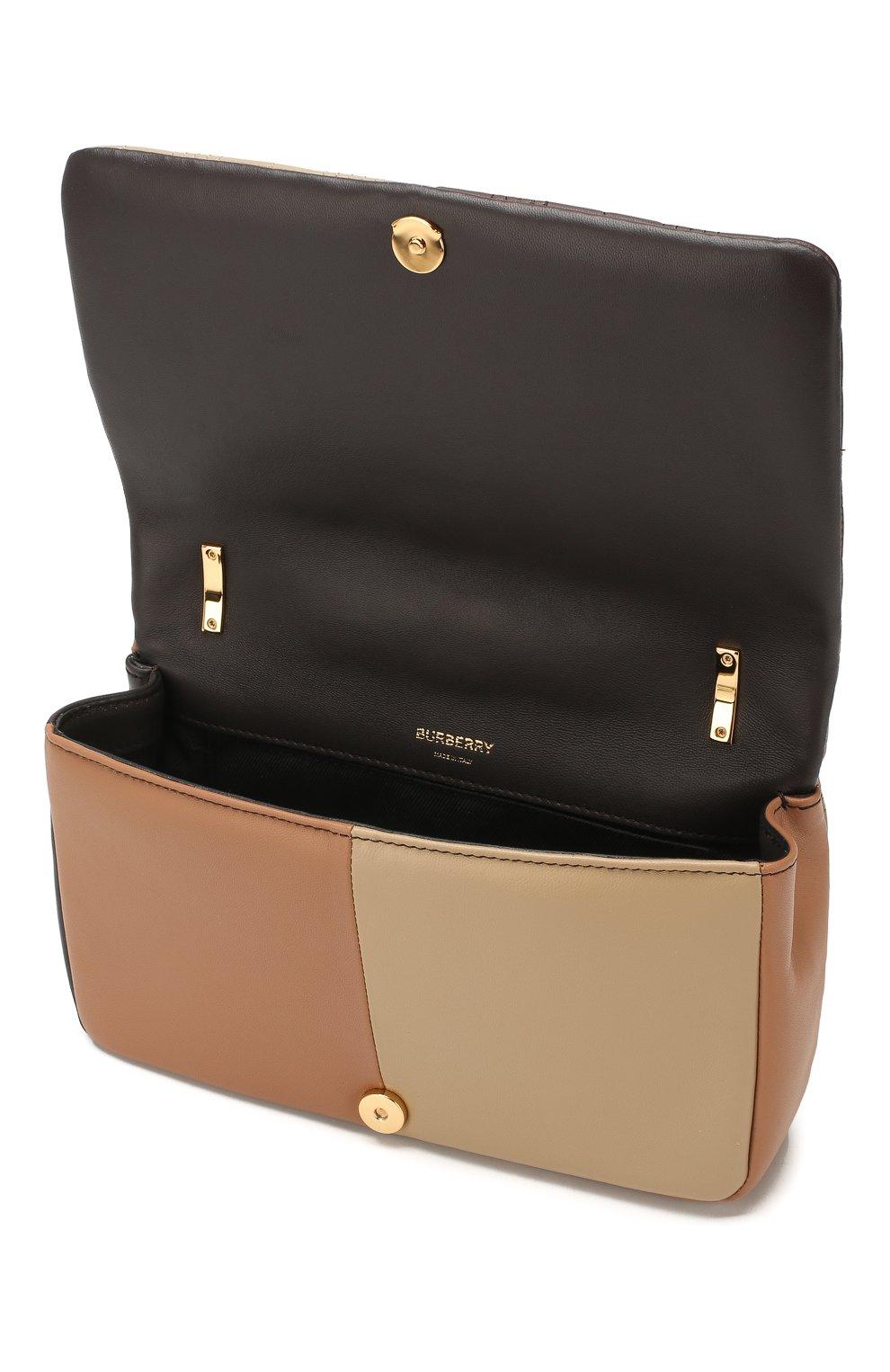 Женская сумка lola small BURBERRY коричневого цвета, арт. 8022977 | Фото 4 (Сумки-технические: Сумки через плечо; Материал: Натуральная кожа; Ремень/цепочка: На ремешке; Размер: small)