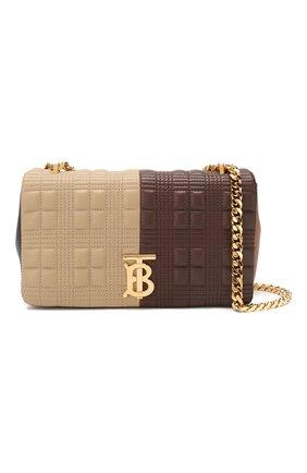 Женская сумка lola small BURBERRY коричневого цвета, арт. 8022977 | Фото 5 (Сумки-технические: Сумки через плечо; Материал: Натуральная кожа; Ремень/цепочка: На ремешке; Размер: small)