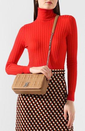 Женская сумка lola small BURBERRY бежевого цвета, арт. 8022600   Фото 2