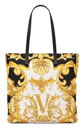 Женская сумка-тоут VERSACE разноцветного цвета, арт. DBFH329/D2NSB | Фото 1
