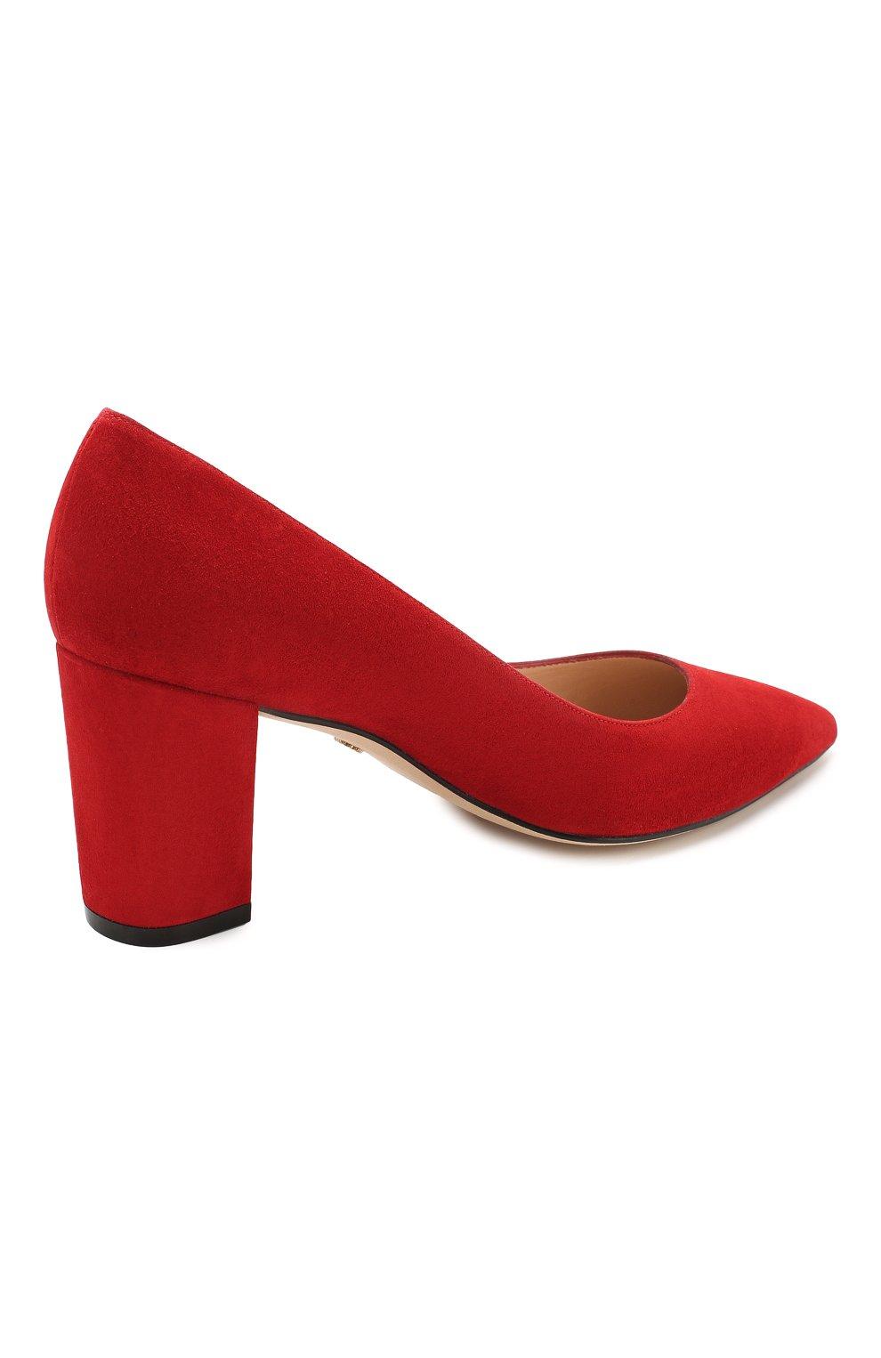 Замшевые туфли | Фото №4