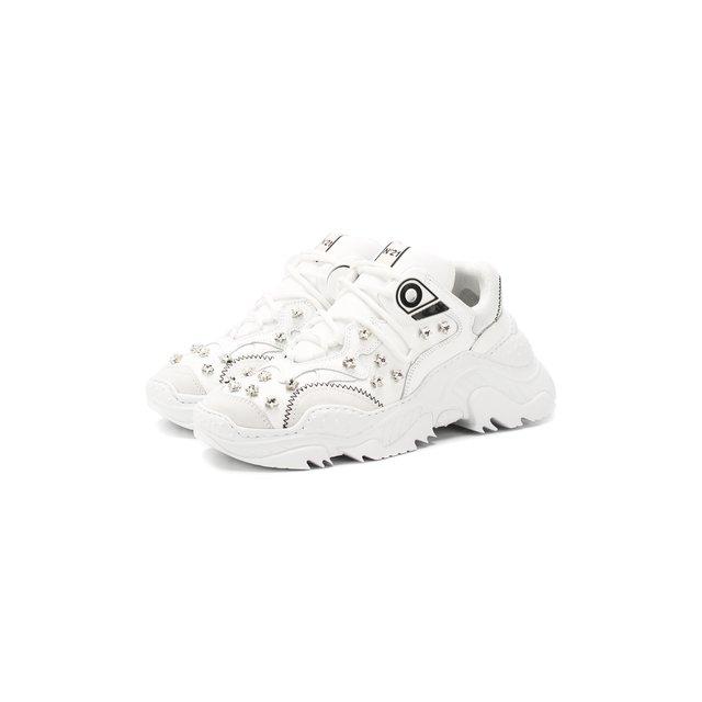 Кожаные кроссовки No. 21 — Кожаные кроссовки