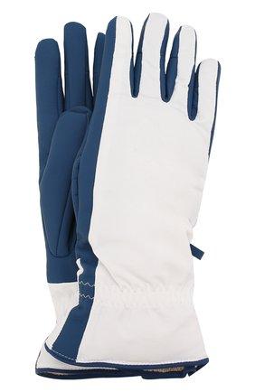 Женские перчатки icer LORO PIANA белого цвета, арт. FAL0273 | Фото 1