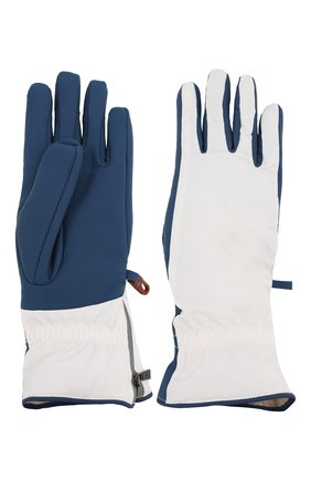 Женские перчатки icer LORO PIANA белого цвета, арт. FAL0273 | Фото 2