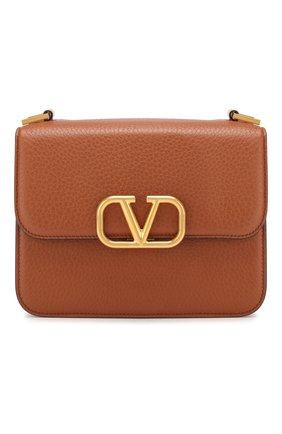 Женская сумка valentino garavani vsling medium VALENTINO коричневого цвета, арт. TW2B0F00/UZZ | Фото 1