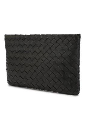 Женские кожаный футляр для документов BOTTEGA VENETA черного цвета, арт. 608232/VCPP2 | Фото 2