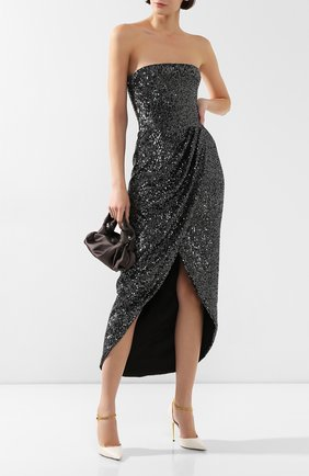 Женское платье с пайетками RASARIO темно-серого цвета, арт. 0044W9_3 | Фото 2