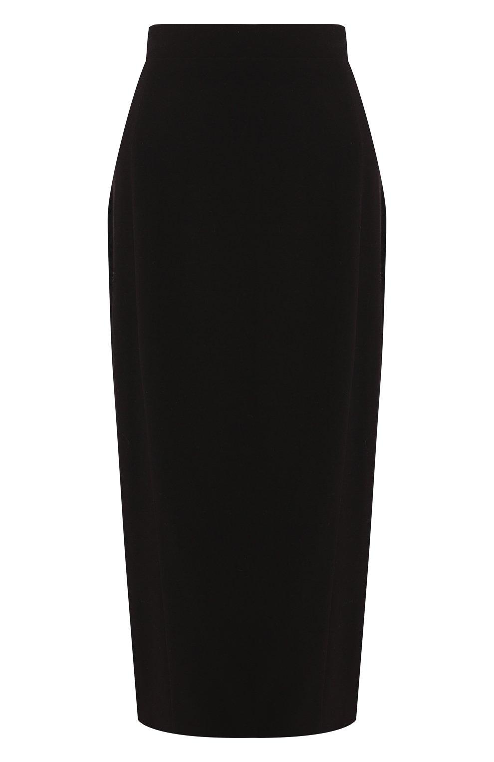 Женская юбка ULYANA SERGEENKO черного цвета, арт. 0153т19 (GNM005SS19P) | Фото 1