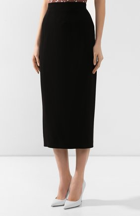 Женская юбка ULYANA SERGEENKO черного цвета, арт. 0153т19 (GNM005SS19P) | Фото 3