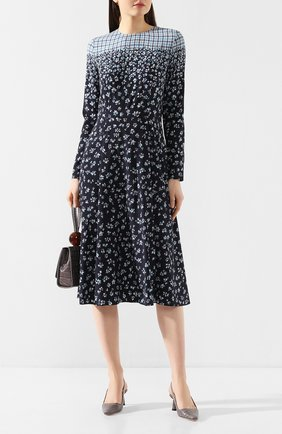 Женское шелковое платье POUSTOVIT разноцветного цвета, арт. w20P-5304 | Фото 2