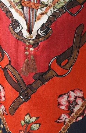 Туника из смеси хлопка и шелка   Фото №5