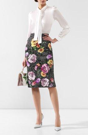 Женская юбка DOLCE & GABBANA разноцветного цвета, арт. F4BP0T/GDR21 | Фото 2