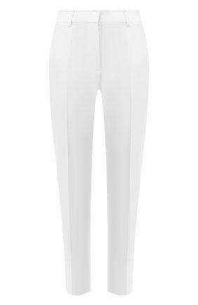 Женские брюки со стрелками EMILIO PUCCI белого цвета, арт. 0ERT50/0E602 | Фото 1
