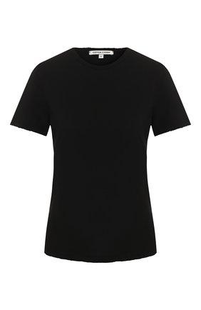 Женская хлопковая футболка COTTON CITIZEN черного цвета, арт. W11361 | Фото 1