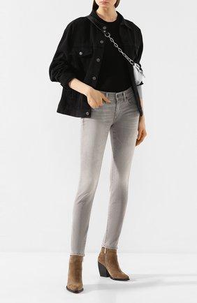 Женская хлопковая футболка COTTON CITIZEN черного цвета, арт. W11361 | Фото 2