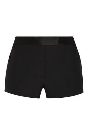 Женские шерстяные шорты TOM FORD черного цвета, арт. SH0010-FAX375 | Фото 1