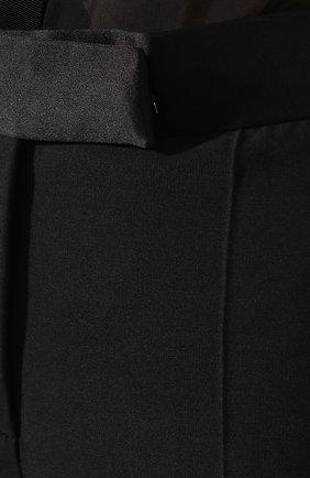 Женские шерстяные шорты TOM FORD черного цвета, арт. SH0010-FAX375   Фото 5 (Женское Кросс-КТ: Шорты-одежда; Материал внешний: Шерсть; Длина Ж (юбки, платья, шорты): Мини; Материал подклада: Вискоза; Статус проверки: Проверена категория)