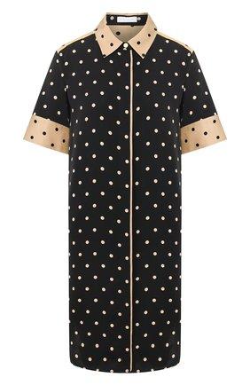 Женское платье из вискозы ESCADA SPORT черного цвета, арт. 5032103 | Фото 1