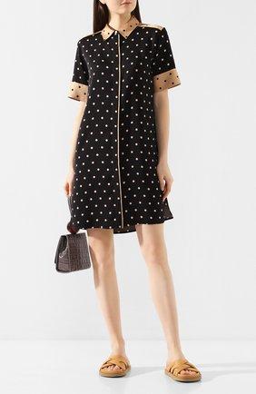 Женское платье из вискозы ESCADA SPORT черного цвета, арт. 5032103 | Фото 2