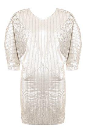 Женское платье ISABEL MARANT серебряного цвета, арт. R01652-20P029I/RADELA   Фото 1