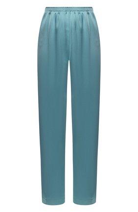 Женские брюки FORTE_FORTE синего цвета, арт. 7045 | Фото 1