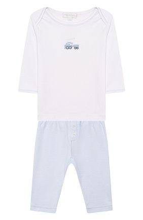 Комплект из лонгслива и брюк Tiny Choo Choo | Фото №1
