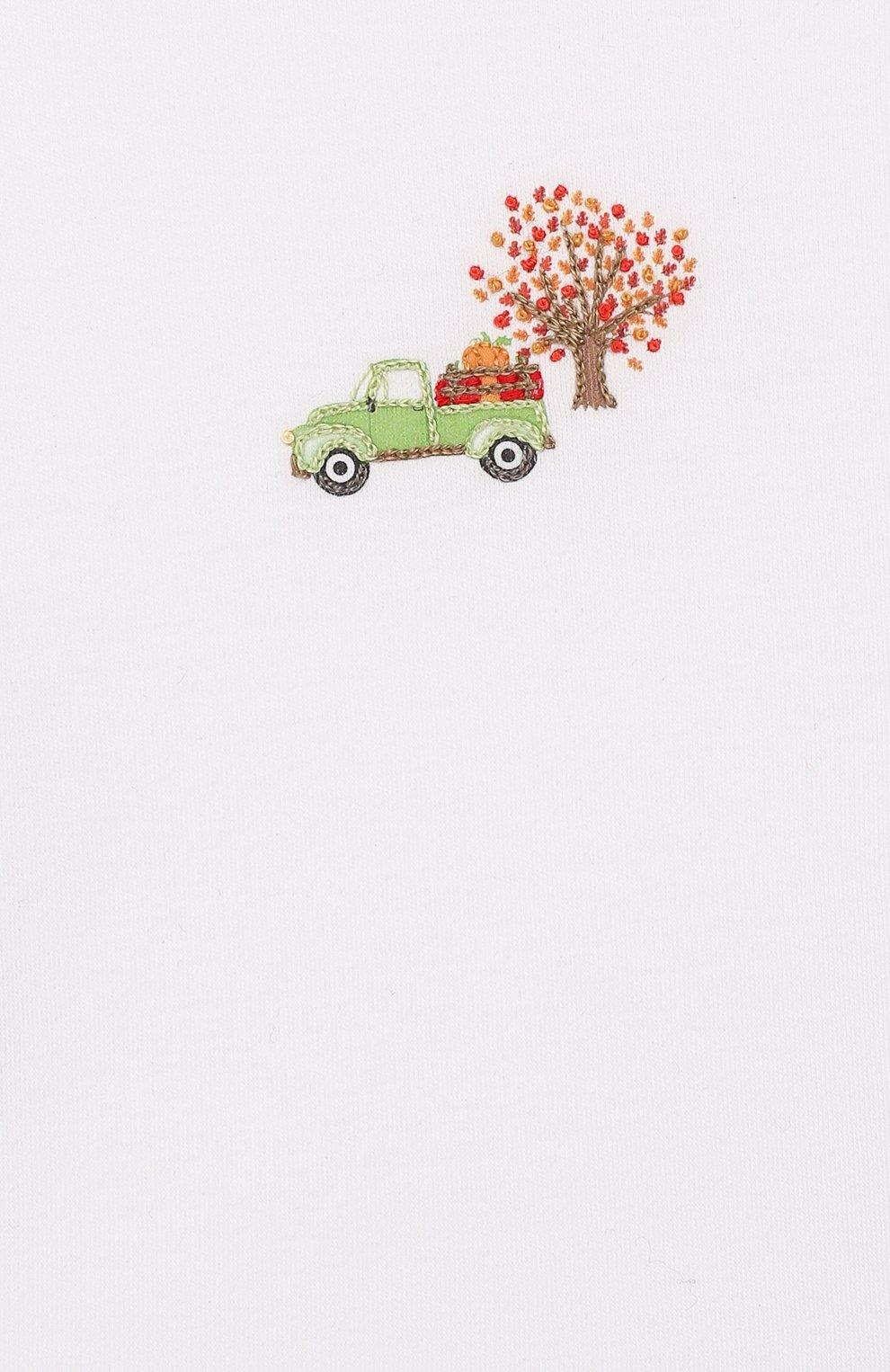 Детский комплект из лонгслива и брюк fall farm MAGNOLIA BABY разноцветного цвета, арт. 652-27-CE | Фото 6