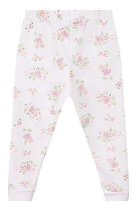 Детский пижама hope's roses essentials MAGNOLIA BABY розового цвета, арт. E105-LP-PK   Фото 5 (Рукава: Длинные; Материал внешний: Хлопок)