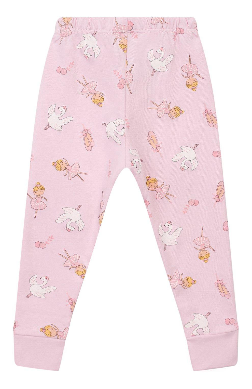Детский пижама ballet duet MAGNOLIA BABY розового цвета, арт. 468-LP-PK | Фото 5