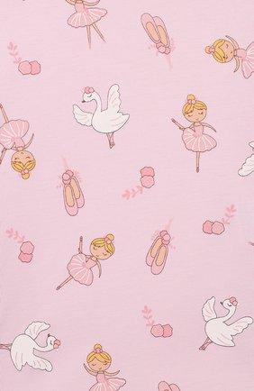 Детский пижама ballet duet MAGNOLIA BABY розового цвета, арт. 468-LP-PK | Фото 6