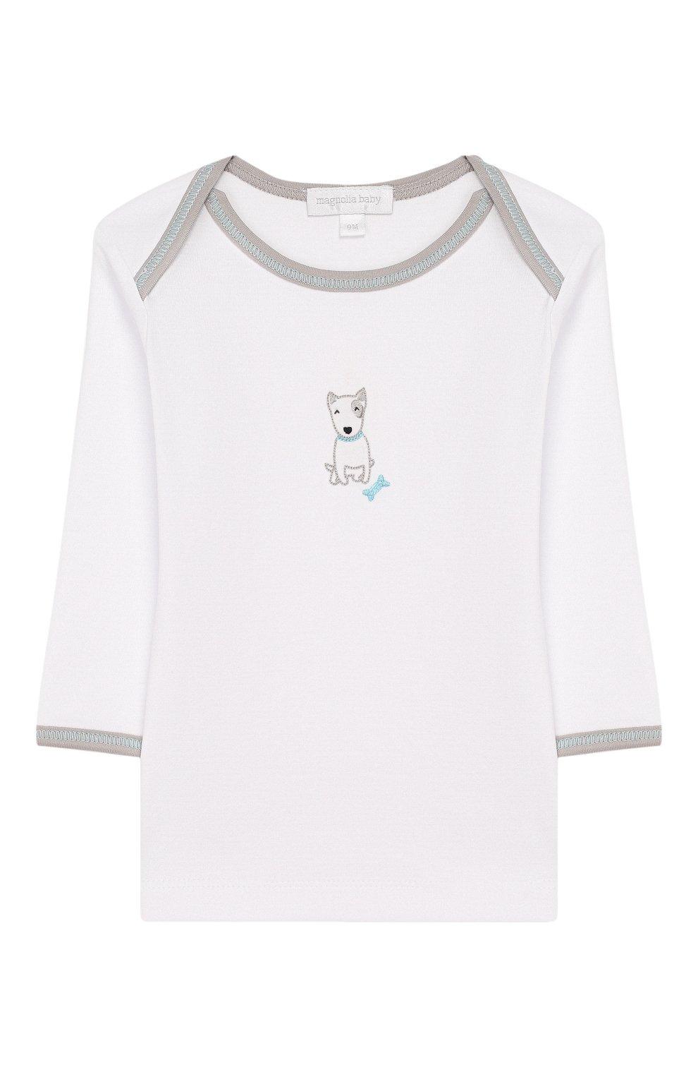 Детский комплект из лонгслива и брюк best buddy MAGNOLIA BABY серого цвета, арт. 563-27-LB | Фото 2