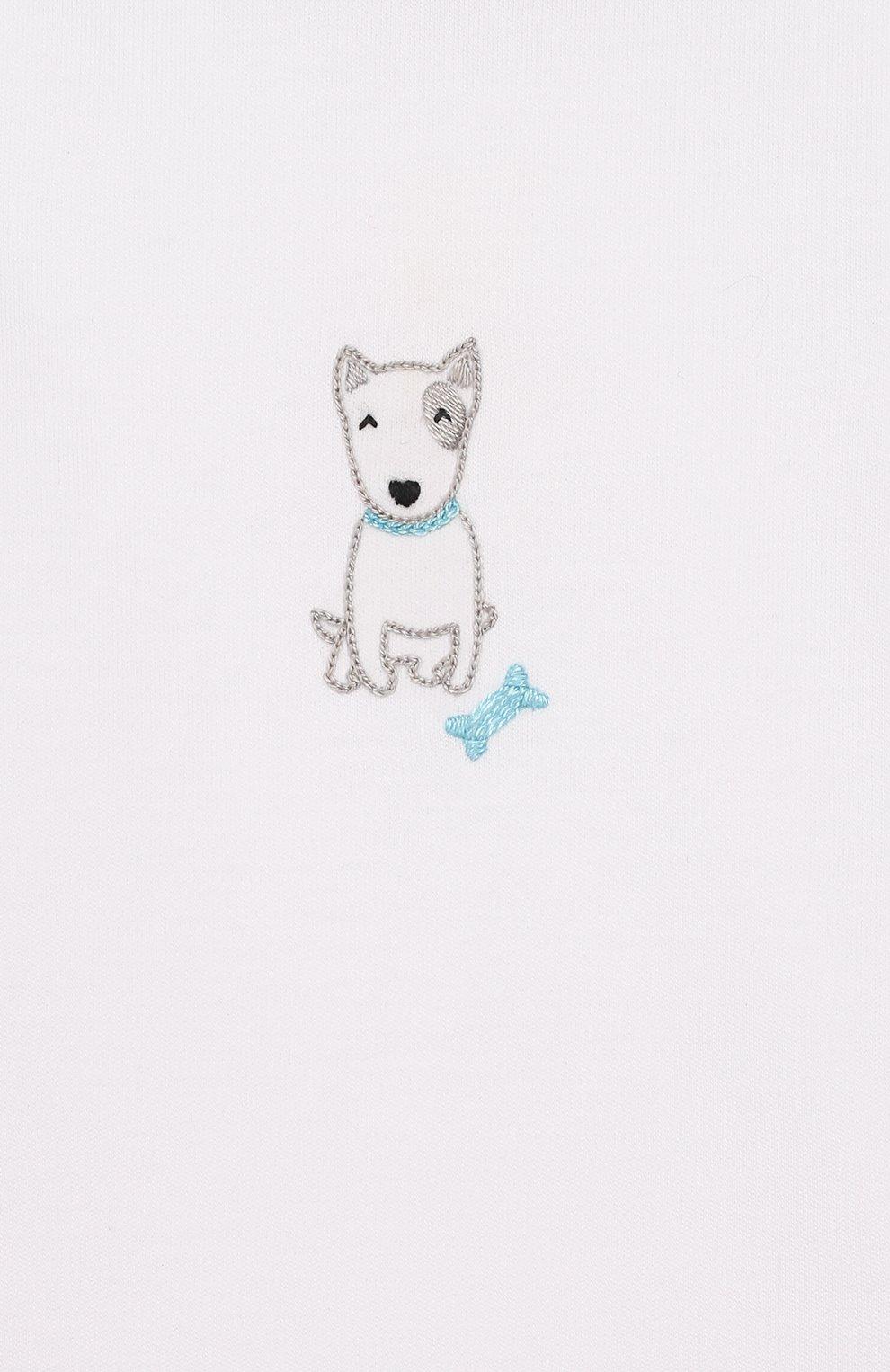 Детский комплект из лонгслива и брюк best buddy MAGNOLIA BABY серого цвета, арт. 563-27-LB | Фото 6