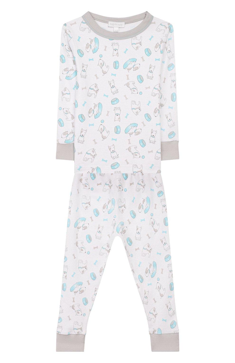 Детский пижама best buddy MAGNOLIA BABY голубого цвета, арт. 563-LP-LB | Фото 1