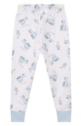 Детский пижама tiny choo choo MAGNOLIA BABY голубого цвета, арт. 569-LP-LB | Фото 4