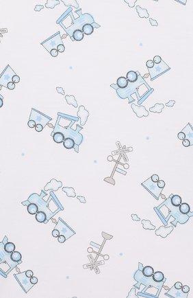 Детский пижама tiny choo choo MAGNOLIA BABY голубого цвета, арт. 569-LP-LB | Фото 6