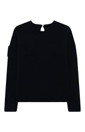 Детский кашемировый пуловер OSCAR ET VALENTINE синего цвета, арт. PUL01ZEBRAM | Фото 2