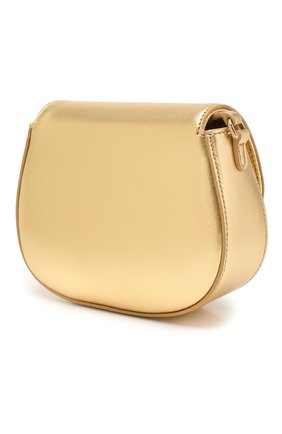 Детская кожаная сумка DOLCE & GABBANA золотого цвета, арт. EB0212/A6B17 | Фото 2