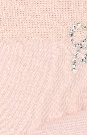 Детские хлопковые носки LA PERLA розового цвета, арт. 42381/9-12 | Фото 2