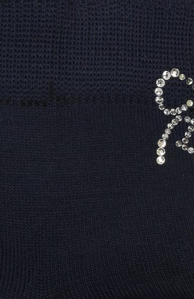 Детские хлопковые носки LA PERLA темно-синего цвета, арт. 42381/7-8 | Фото 2
