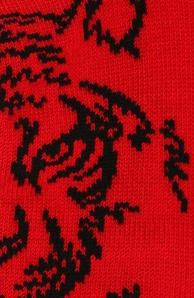 Детские хлопковые носки LA PERLA красного цвета, арт. 42375/3-6 | Фото 2